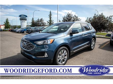 2019 Ford Edge Titanium (Stk: KK-204) in Calgary - Image 1 of 5