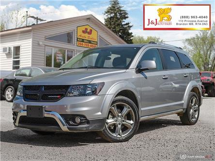 2017 Dodge Journey Crossroad (Stk: J19066) in Brandon - Image 1 of 27