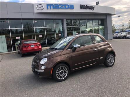 2012 Fiat 500 Lounge (Stk: 185077K) in Surrey - Image 1 of 15