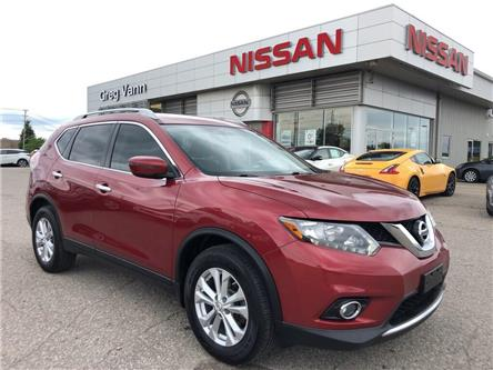 2016 Nissan Rogue SV (Stk: V0615A) in Cambridge - Image 1 of 27