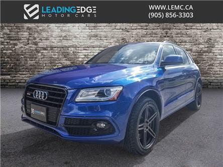 2016 Audi SQ5 3.0T Progressiv (Stk: 15405) in Woodbridge - Image 1 of 21