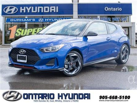2020 Hyundai Veloster Turbo w/Two-Tone Paint (Stk: 023423) in Whitby - Image 1 of 20