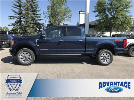2019 Ford F-350 Platinum (Stk: K-1821) in Calgary - Image 2 of 5