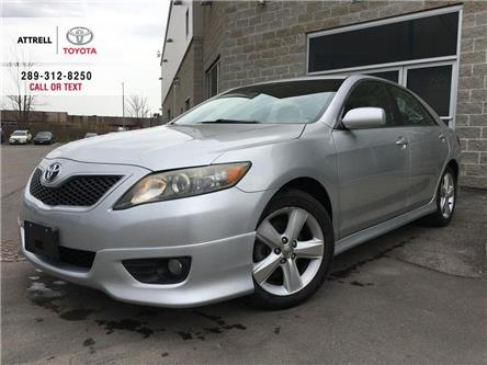 2011 Toyota Camry SE AA PKG SKIRTS, SPOILER, ALLOY WHEELS, FOG LAMPS (Stk: 44147A) in Brampton - Image 1 of 23