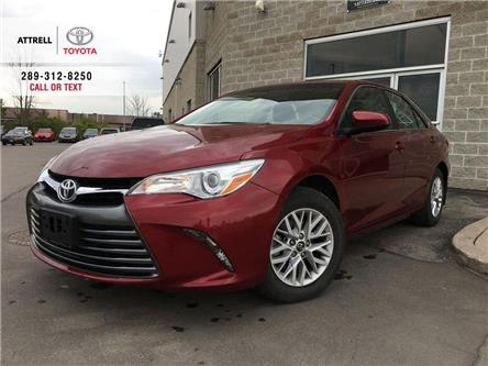 2017 Toyota Camry LE B PKG ALLOY WHEELS, POWER DRIVER SEAT, BACK CAM (Stk: 44412A) in Brampton - Image 1 of 24