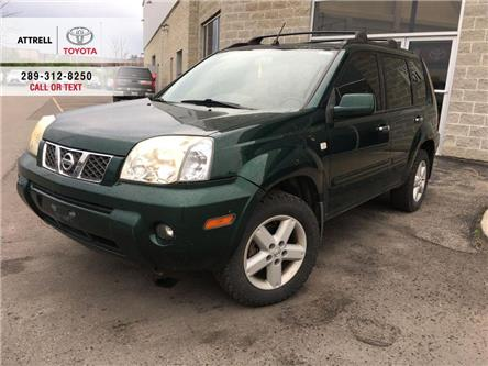 2005 Nissan X-Trail SE AWD ALLOYS, FOG, PANO SUNROOF, ROOF RACK, ABS,  (Stk: 44338AB) in Brampton - Image 1 of 21
