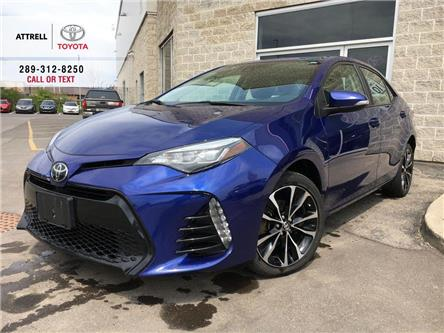 2018 Toyota Corolla SE UPGRADE PKG HEATED STEERING, ALLOYS, MOONROOF,  (Stk: 43821XA) in Brampton - Image 1 of 27
