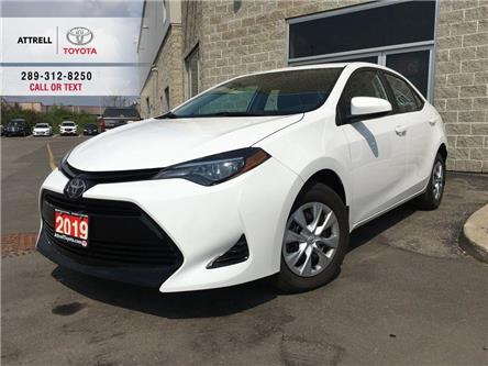 2019 Toyota Corolla CE B PKG BACK CAM, TSS-P, HEATED SEATS, AUX, USB,  (Stk: 44061A) in Brampton - Image 1 of 24