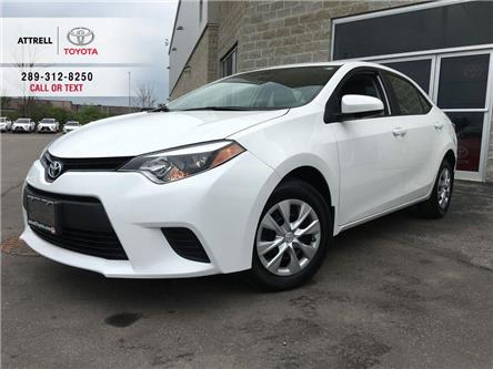 2016 Toyota Corolla CE POWER GROUP, STEERING WHEEL CONTROLS, ABS, USB, (Stk: 44770A) in Brampton - Image 1 of 23
