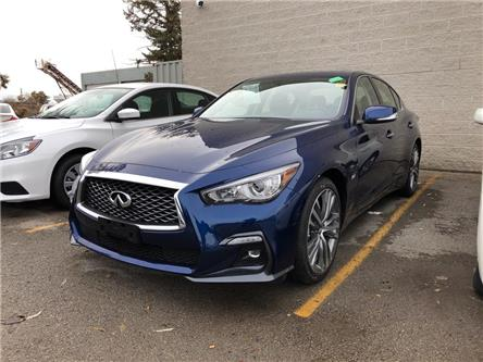 2019 Infiniti Q50 3.0t Signature Edition (Stk: 19Q5018) in Newmarket - Image 1 of 5