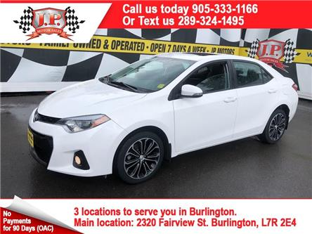 2016 Toyota Corolla S (Stk: 47546) in Burlington - Image 1 of 24