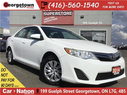 2014 Toyota Camry LE | BLUETOOTH | BACK UP CAMERA | 2.5L 4CYL | (Stk: P12316) in Georgetown - Image 1 of 25