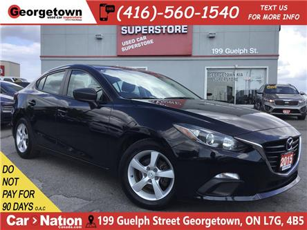 2015 Mazda Mazda3 GX | 6 SPEED | BLUETOOTH | ALLOYS | FOGS | (Stk: P12260) in Georgetown - Image 1 of 20