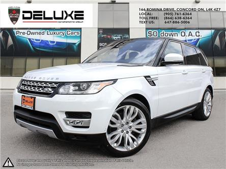 2016 Land Rover Range Rover Sport DIESEL Td6 HSE (Stk: D0630) in Concord - Image 1 of 27