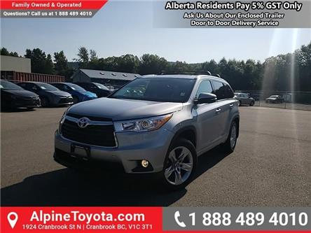 2016 Toyota Highlander Limited (Stk: S335940M) in Cranbrook - Image 1 of 27