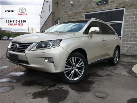 2013 Lexus RX 350 ULTRA PREM LEATHER,SUNROOF,NAVI,ALLOYS,HEATED STEE (Stk: 43583B) in Brampton - Image 1 of 29