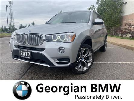2017 BMW X3 xDrive28i (Stk: P1540) in Barrie - Image 1 of 22
