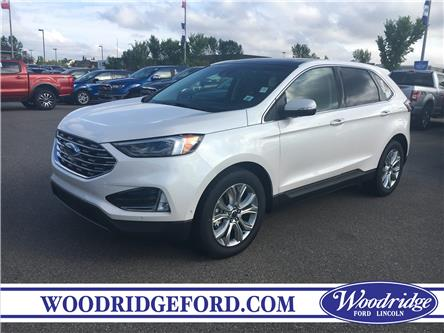 2019 Ford Edge Titanium (Stk: K-2491) in Calgary - Image 1 of 5