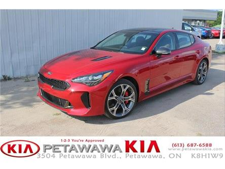 2018 Kia Stinger GT (Stk: 18226) in Petawawa - Image 1 of 8