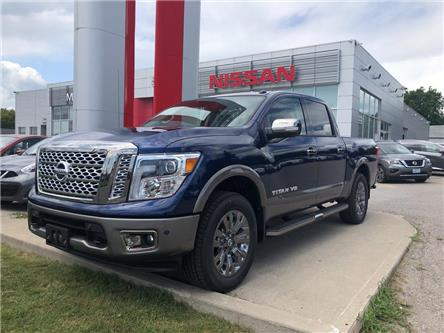 2019 Nissan Titan Platinum (Stk: KN525865) in Whitby - Image 1 of 5