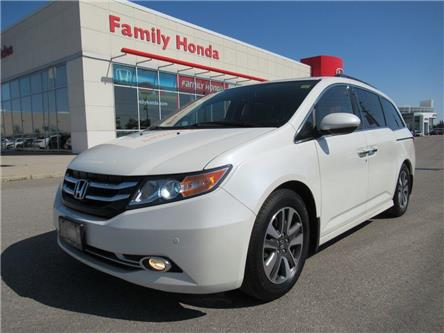 2016 Honda Odyssey Touring, FULLY LOADED! (Stk: 9506784A) in Brampton - Image 1 of 28