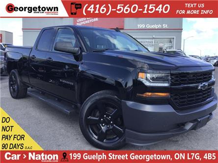 2016 Chevrolet Silverado 1500 LS | 4X4 | BLACK PKG | TONNEAU CVR|BU CAM| 6FT BOX (Stk: P12420) in Georgetown - Image 1 of 24