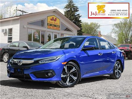 2017 Honda Civic Touring (Stk: J19083) in Brandon - Image 1 of 27