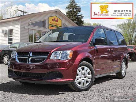 2017 Dodge Grand Caravan 29G SXT (Stk: J19073) in Brandon - Image 1 of 27