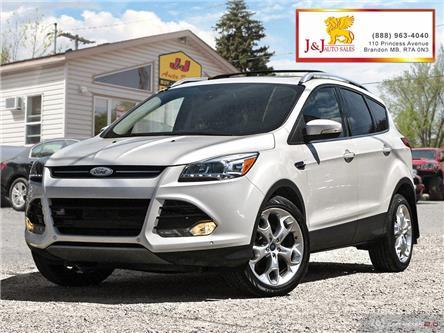 2013 Ford Escape Titanium (Stk: J19070) in Brandon - Image 1 of 27
