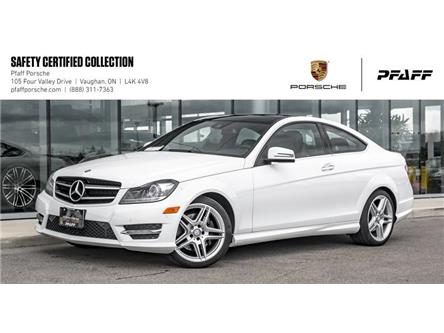 2014 Mercedes-Benz C350 4MATIC Coupe (Stk: P13926A) in Vaughan - Image 1 of 22