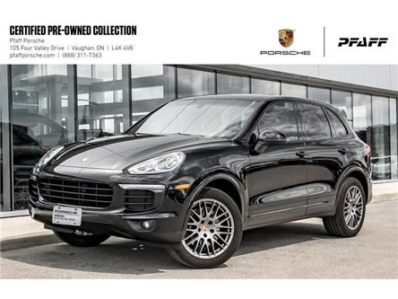 2018 Porsche Cayenne Platinum Edition (Stk: U8120) in Vaughan - Image 1 of 22