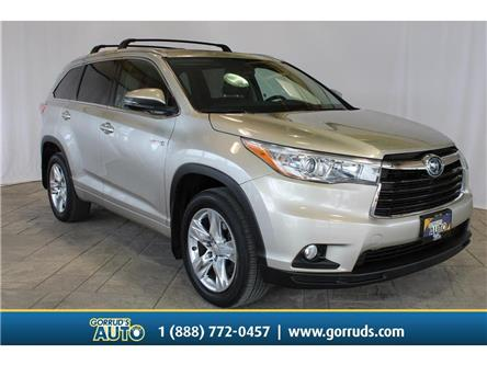 2015 Toyota Highlander Hybrid  (Stk: 008091) in Milton - Image 1 of 48