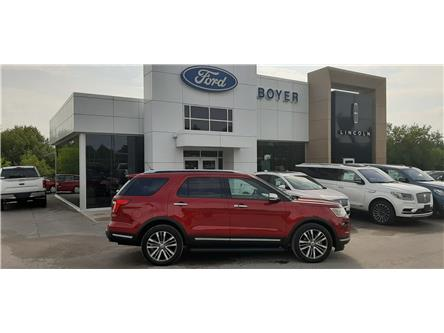 2019 Ford Explorer Platinum (Stk: P0475) in Bobcaygeon - Image 1 of 30