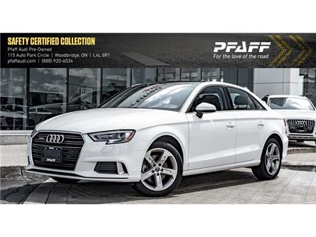 2018 Audi A3 2.0T Komfort (Stk: C6810) in Woodbridge - Image 1 of 22