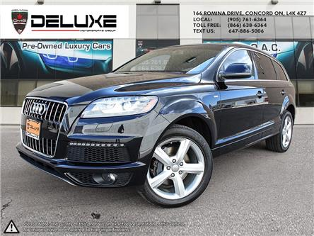 2014 Audi Q7 3.0T Sport (Stk: D0631) in Concord - Image 1 of 21