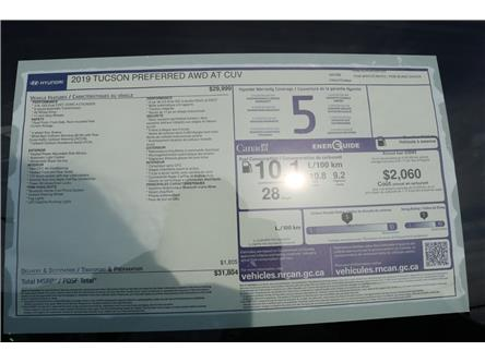 2019 Hyundai Tucson Preferred (Stk: 97057) in Saint John - Image 2 of 2