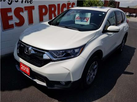 2018 Honda CR-V EX (Stk: 19-559) in Oshawa - Image 1 of 17