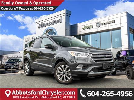 2017 Ford Escape Titanium (Stk: K561775A) in Abbotsford - Image 1 of 26