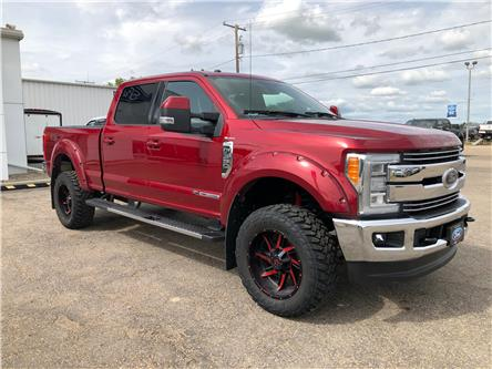 2017 Ford F-350 Lariat (Stk: 9187A) in Wilkie - Image 1 of 24