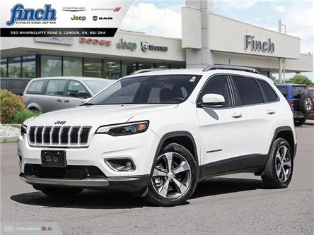 2019 Jeep Cherokee Limited (Stk: 95821) in London - Image 1 of 27