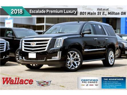 2018 Cadillac Escalade Premium Luxury/DVD/SUNRF/360 CAM/HTD CLD LTHR STS (Stk: PL5230) in Milton - Image 1 of 30