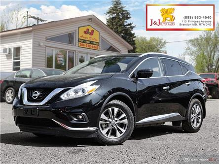 2016 Nissan Murano SL (Stk: J19063-1) in Brandon - Image 1 of 27