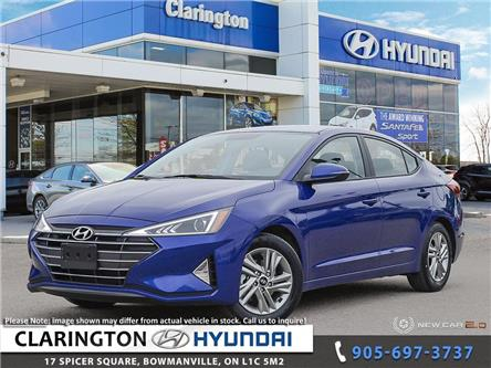 2020 Hyundai Elantra Preferred w/Sun & Safety Package (Stk: 19406) in Clarington - Image 1 of 24