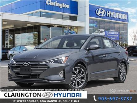 2020 Hyundai Elantra Luxury (Stk: 19484) in Clarington - Image 1 of 24