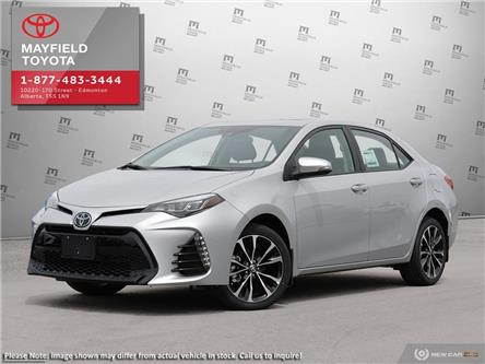 2019 Toyota Corolla SE Upgrade Package (Stk: 190060) in Edmonton - Image 1 of 24