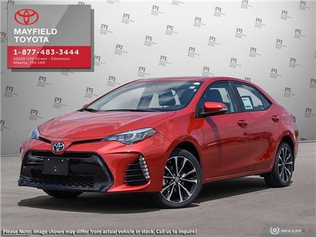 2019 Toyota Corolla SE Upgrade Package (Stk: 190120) in Edmonton - Image 1 of 23