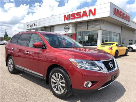 2016 Nissan Pathfinder SL (Stk: P2635) in Cambridge - Image 1 of 30