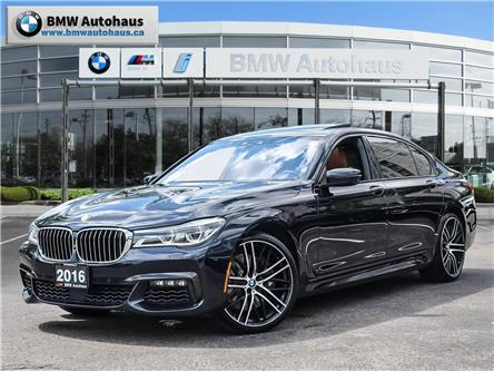2016 BMW 750 Li xDrive (Stk: P8950) in Thornhill - Image 1 of 31