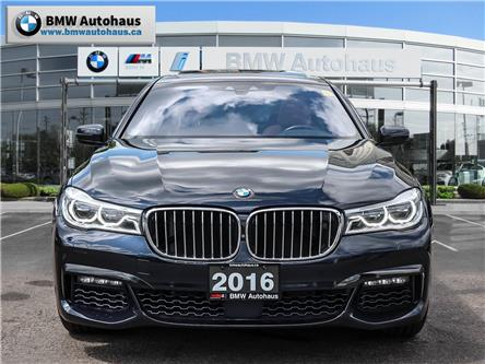 2016 BMW 750 Li xDrive (Stk: P8950) in Thornhill - Image 2 of 31