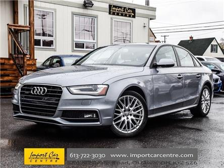 2016 Audi A4 2.0T Komfort plus (Stk: 002482) in Ottawa - Image 1 of 30